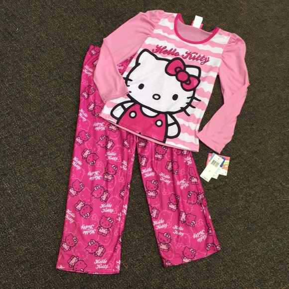 NWT Hello Kitty Pajamas d3301f61c